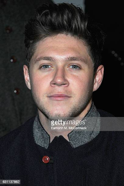 Niall Horan attends the Oliver Spencer show during London Fashion Week Men's January 2017 collections at BFC Show Space on January 7 2017 in London...