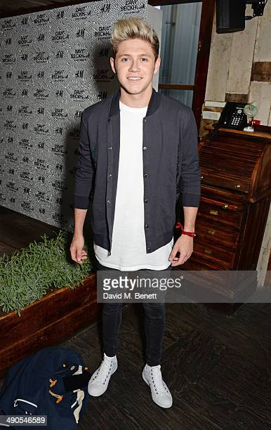 Niall Horan attends the private launch of David Beckham For HM Swimwear at Shoreditch House on May 14 2014 in London England