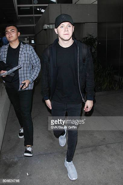Niall Horan is seen at LAX on January 11 2016 in Los Angeles California