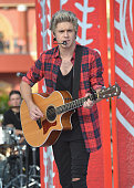 Niall Horan of One Direction appears on NBC's Today Show to release their new album 'Four' at Universal City Walk At Universal Orlando on November 17...