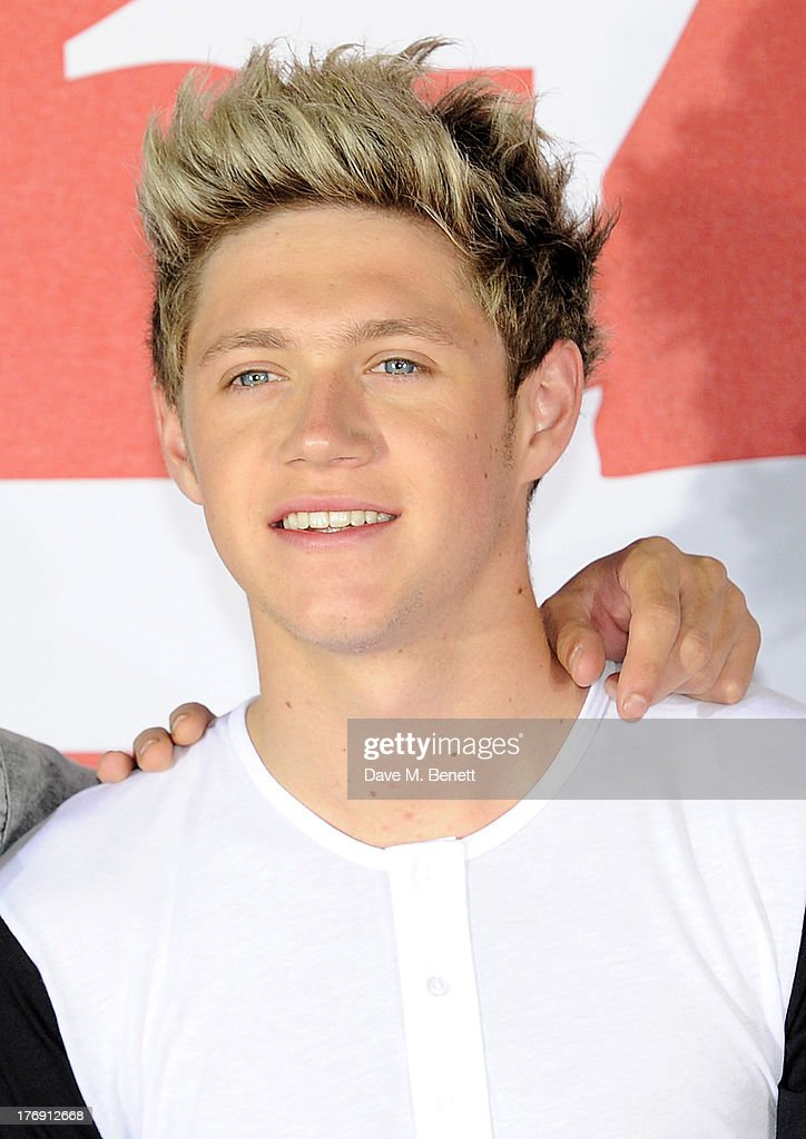 <a gi-track='captionPersonalityLinkClicked' href=/galleries/search?phrase=Niall+Horan&family=editorial&specificpeople=7229827 ng-click='$event.stopPropagation()'>Niall Horan</a> of One Direction attends a photocall to launch their new film 'One Direction: This Is Us 3D' at Big Sky Studios on August 19, 2013 in London, England.