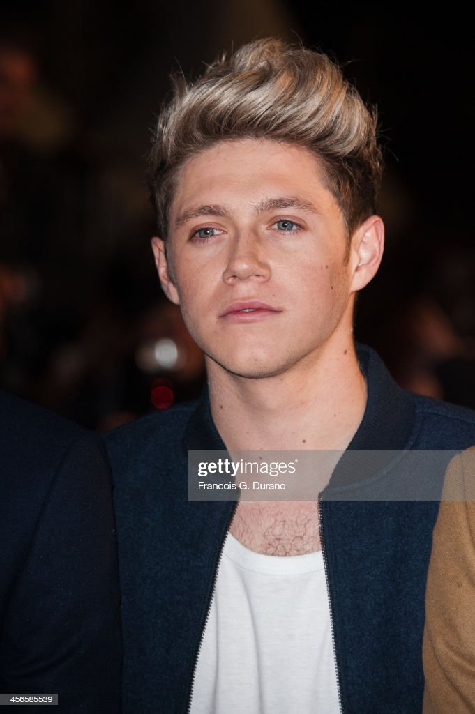 <a gi-track='captionPersonalityLinkClicked' href=/galleries/search?phrase=Niall+Horan&family=editorial&specificpeople=7229827 ng-click='$event.stopPropagation()'>Niall Horan</a> of <a gi-track='captionPersonalityLinkClicked' href=/galleries/search?phrase=One+Direction+-+Boy+Band&family=editorial&specificpeople=7380629 ng-click='$event.stopPropagation()'>One Direction</a> attends the 15th NRJ Music Awards at Palais des Festivals on December 14, 2013 in Cannes, France.