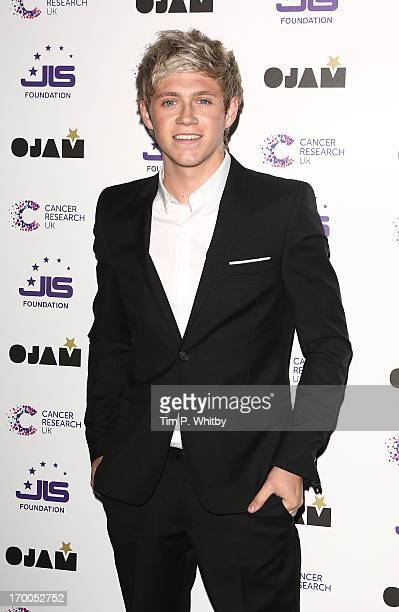 Niall Horan of One Direction attends the JLS Foundation and Cancer Research UK fundraiser at Battersea Evolution on June 6 2013 in London England