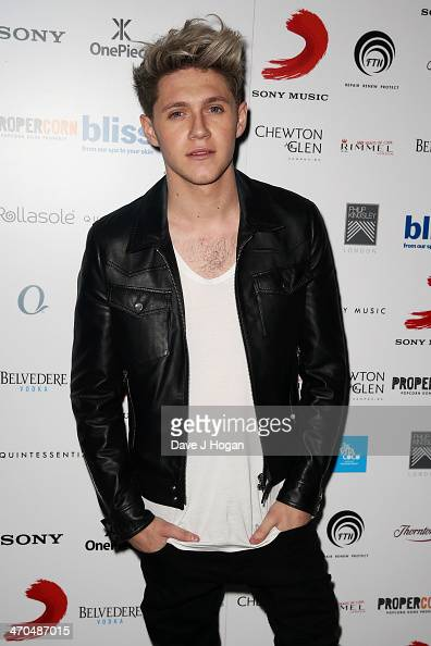 Niall Horan of One Direction attends The Sony Music BRIT Awards 2014 after party at The O2 Arena on February 19 2014 in London England