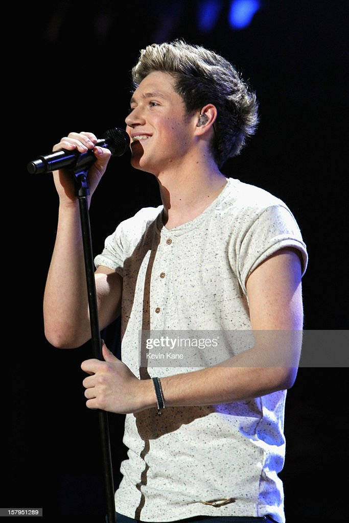 Niall Horan of One Direction performs onstage during Z100's Jingle Ball 2012, presented by Aeropostale, at Madison Square Garden on December 7, 2012 in New York City.