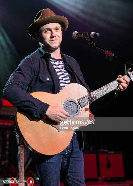 Niall Horan performs at Michigan Lottery Amphitheatre on June 25 2017 in Sterling Heights Michigan