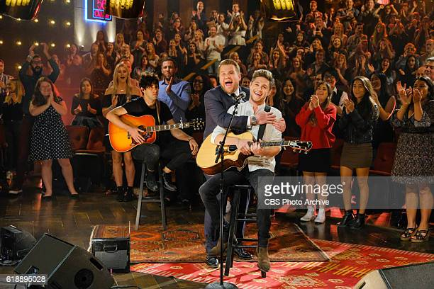 Niall Horan performs during 'The Late Late Show with James Corden' Wednesday October 26 2016 On The CBS Television Network