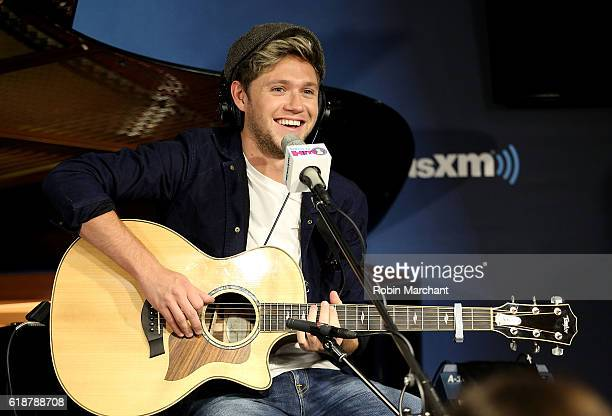 Niall Horan visits SiriusXM's Hit's 1 at SiriusXM Studio on October 28 2016 in New York City