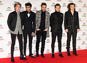 LONDON ENGLAND DECEMBER 11 Niall Horan Zayn Malik Liam Payne Louis Tomlinson and Harry Styles of One Direction attends the BBC Music Awards at Earl's...