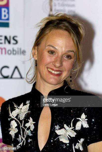 Niamh Cusack during The Irish Film and Television Awards 2004 Pressroom at The Burlington Hotel in Dublin Ireland