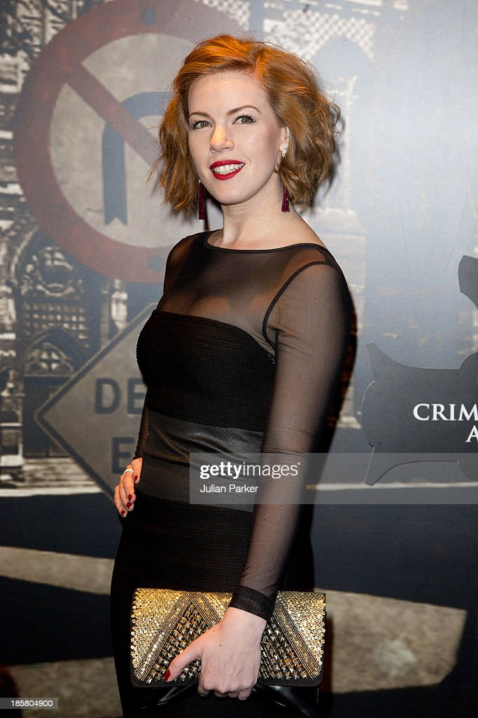 Niamh McGrady attends the Specsavers Crime Thriller Awards at The Grosvenor House Hotel on October 24, 2013 in London, England.