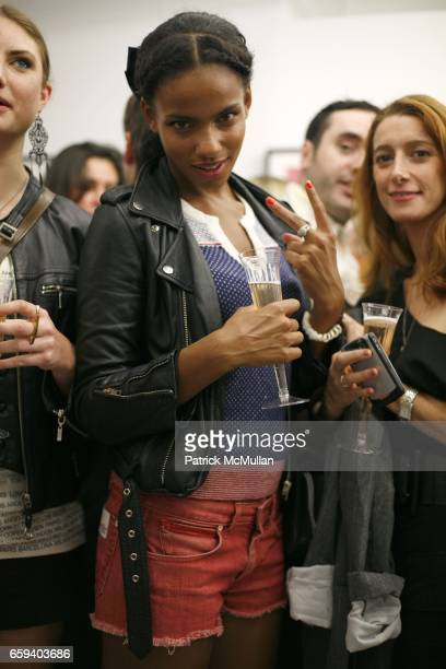 Nianga Niang attends PRINCE PETER x MICK ROCK Spring/Summer 2010 at EVA on September 9 2009 in New York City