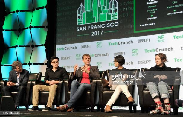 Niantic Inc CTO Phil Keslin The CurioPets Company CEO Nathan Kong Escher Reality CEO Ross Finman Escher Reality CTO Diana Hu and Founders Fund...
