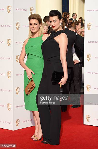 Nic Chapman and Sam Chapman aka Pixiwoo attend the House of Fraser British Academy Television Awards at Theatre Royal on May 10 2015 in London England