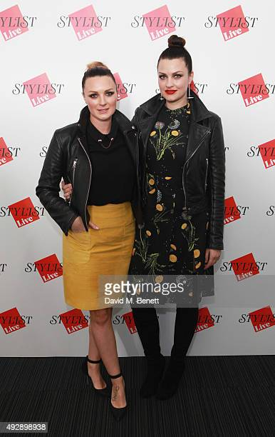 Nic Chapman and Sam Chapman from Pixiwoo attend day two of Stylist Magazine's first ever 'Stylist Live' event at the Business Design Centre on...