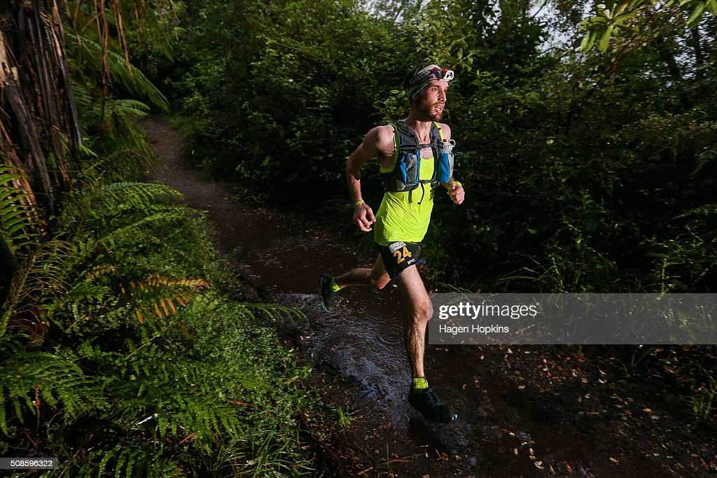 Nic Errol of Australia competes during the Tarawera Ultramarathon on February 6, 2016 in Rotorua, New Zealand.