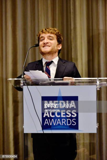 Nic Novicki attends the Media Access Awards 2017 at The Four Seasons on November 17 2017 in Beverly Hills California