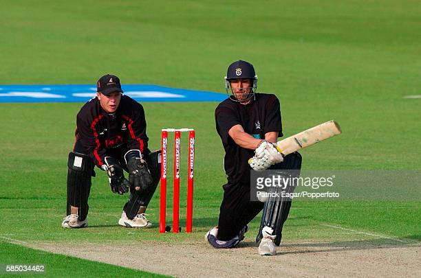 Nic Pothas batting for Hampshire during the Twenty20 Cup match between Hampshire and Sussex at The Rose Bowl Southampton 13th June 2003 The...