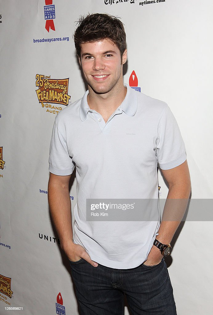 Nic Robuck attends the 25th annual Broadway Flea Market at The Bernard B. Jacobs Theatre on September 25, 2011 in New York City.