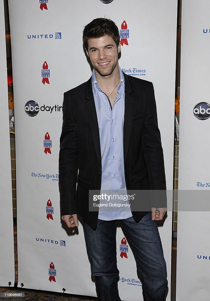 Nic Robuck attends the 7th Annual ABC & SOAPnet Salute Broadway Cares/Equity Fights Aids Benefit closing celebration at The New York Marriott Marquis on March 13, 2011 in New York City.