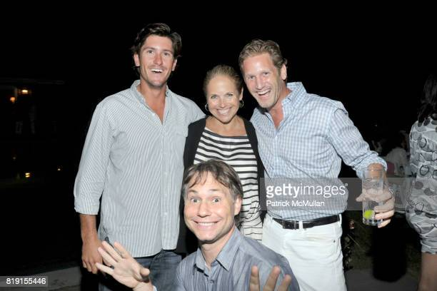 Nic Roldan Katie Couric Ward Simmons and Jason Binn attend THE CINEMA SOCIETY with VANITY FAIR HUGO BOSS host the after party for 'DINNER FOR...