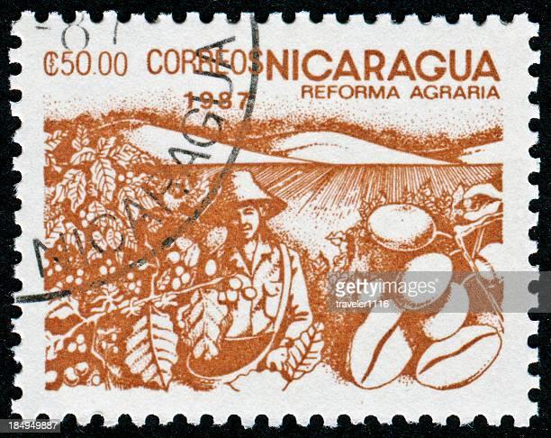 Nicaraguan Coffee Stamp