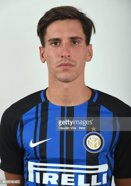 Niccolo Belloni of FC Internazionale poses on July 7 2017 in Reischach near Bruneck Italy