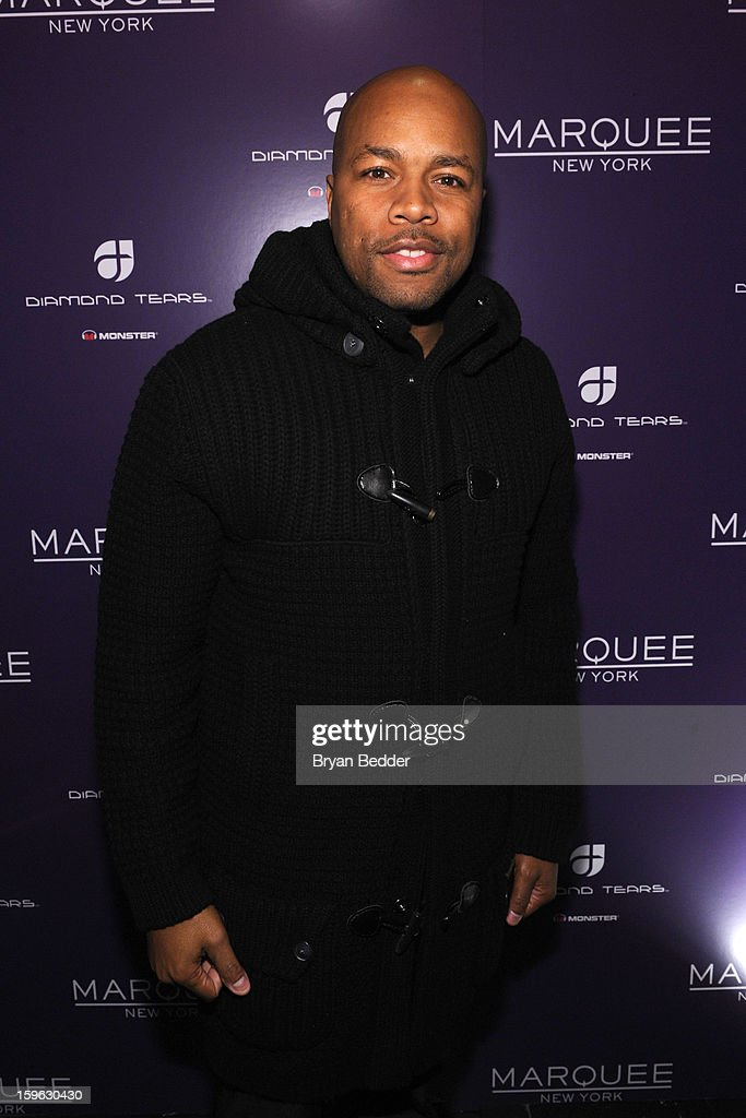 DJ Nice attends the grand opening of Marquee New York on January 16, 2013 in New York City.
