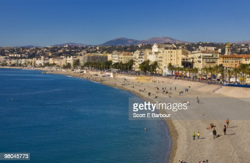 Nice cityscape and beach