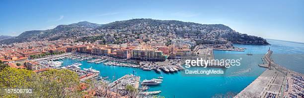 (XXL) Panorama von Nizza, Frankreich
