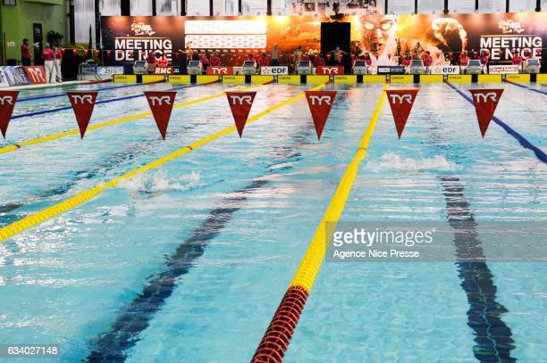 Nice Golden Tour Camille Muffat during the Meeting of Nice Swimming Golden Tour on February 5 2017 in Nice France