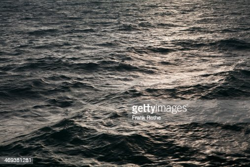nice shot of water in the ocean from above : Stock Photo