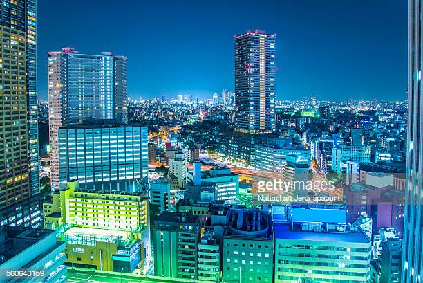 Nice Tokyo cityscape view