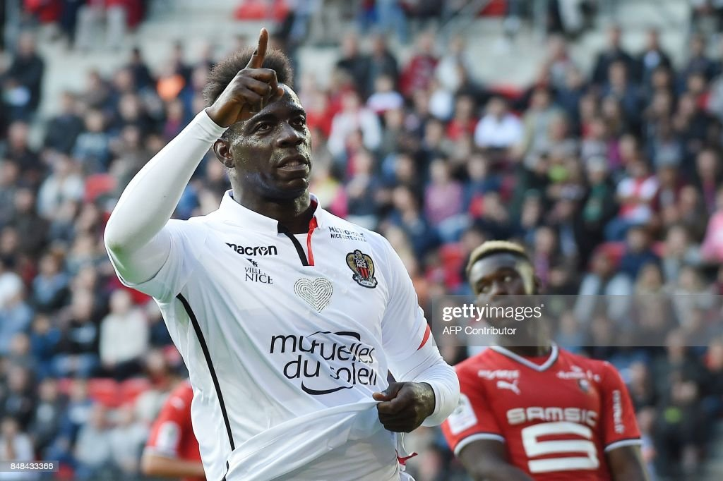 FBL-FRA-LIGUE1-RENNES-NICE : News Photo