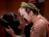 USA: 22nd November 1968 - The First Interracial Kiss On US TV