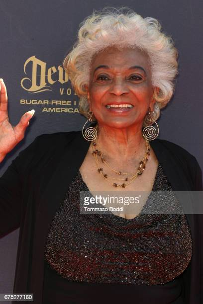 Nichelle Nichols attends the 44th Annual Daytime Emmy Awards at Pasadena Civic Auditorium on April 30 2017 in Pasadena California