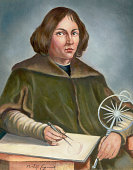 Nicholai Copernicus Polish astronomer Portrait after a contemporary painting Undated SEE