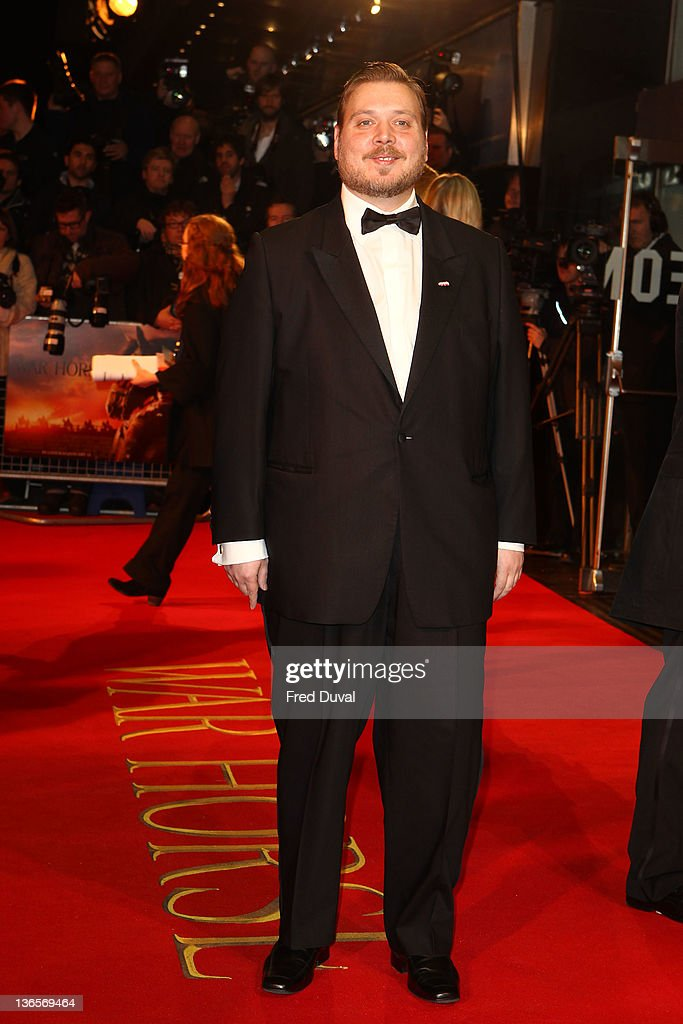 Nicholas Bro attends the UK premiere of War Horse at Odeon Leicester Square on January 8, 2012 in London, England.