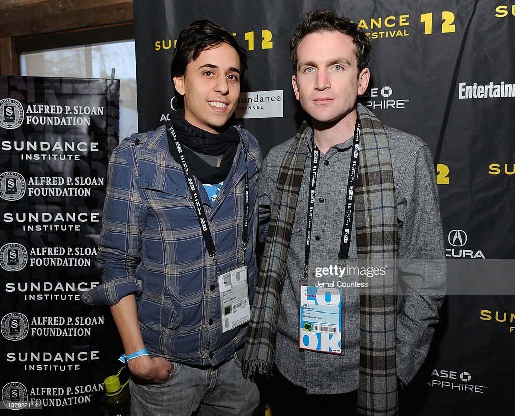 Nicholas Bruckman and Jake Schreier attend the Alfred P. Sloan Foundation Reception & Prize Announcement during the 2012 Sundance Film Festival on January 27, 2012 in Park City, Utah.