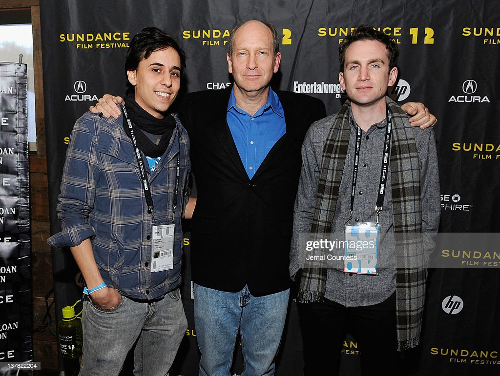 Nicholas Bruckman, Doron Weber and Jake Schreier attend the Alfred P. Sloan Foundation Reception & Prize Announcement during the 2012 Sundance Film Festival on January 27, 2012 in Park City, Utah.