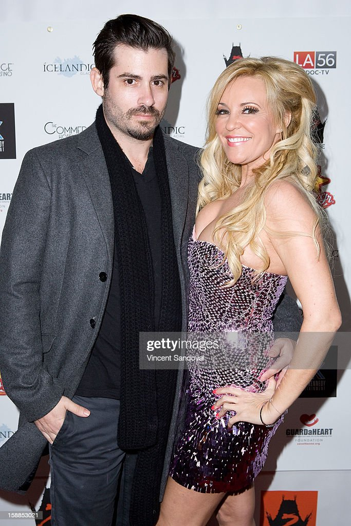 Nicholas Carpenter and actress Bridget Marquardt attends the 'First Night 2013' New Year's Eve Party hosted by Jamie Kennnedy at Grauman's Chinese Theatre on December 31, 2012 in Hollywood, California.