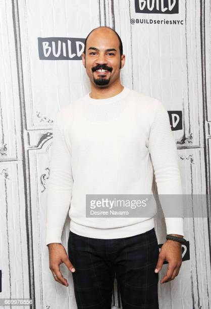 Nicholas Christopher attends Build Series to discuss his new role in 'Miss Saigon' at Build Studio on April 18 2017 in New York City