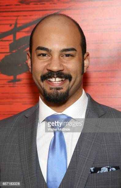 Nicholas Christopher attends The Opening Night After Party for the New Broadway Production of 'Miss Saigon' at Tavern on the Green on March 23 2017...