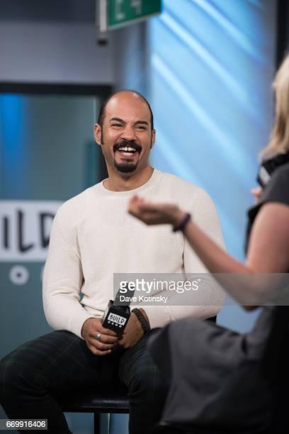 Nicholas Christopher speaks at Build Studio on April 18 2017 in New York City