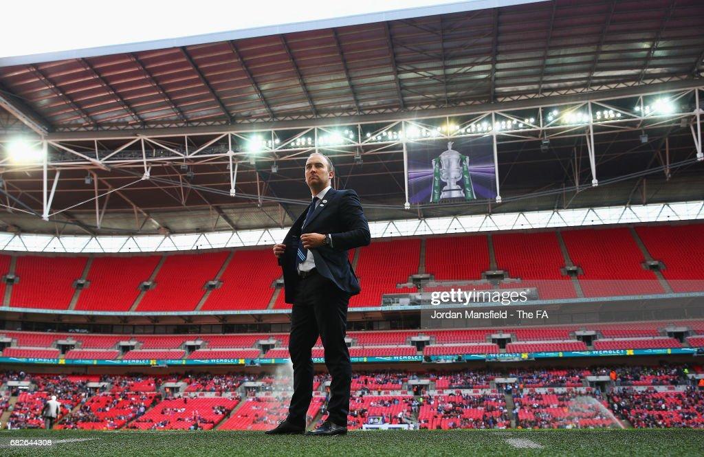 Birmingham City Ladies v Manchester City Women - SSE Women's FA Cup Final : News Photo