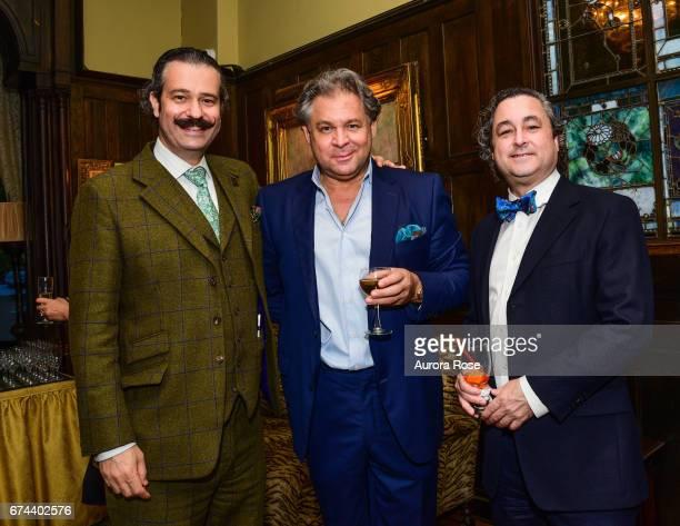 Nicholas D Lowry Sasha Josipovicz and Raymond Dowd attend Objekt USACanada celebrates National Arts Club at National Arts Club on April 27 2017 in...