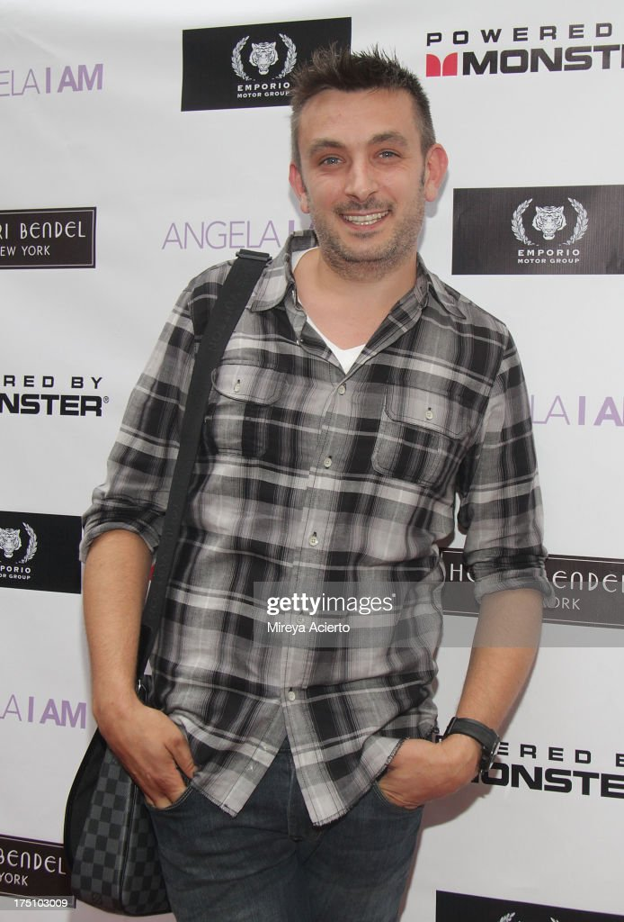 Nicholas D'Aurizio attends the Angela I Am launch at Henri Bendel on July 31, 2013 in New York City.