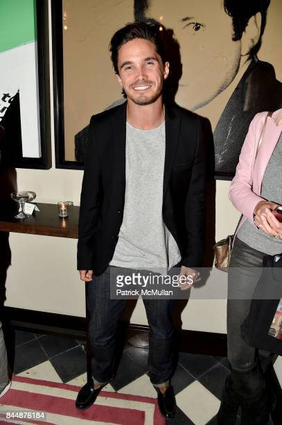 Nicholas de Kwiatkowski attends the Nicole Miller Spring 2018 Presentation at Gramercy Terrace at The Gramercy Park Hotel on September 8 2017 in New...