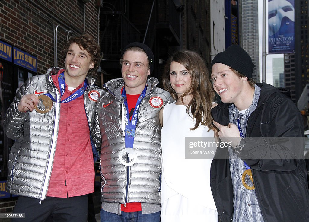 """Celebrities Visit """"Late Show With David Letterman"""" - February 20, 2014"""