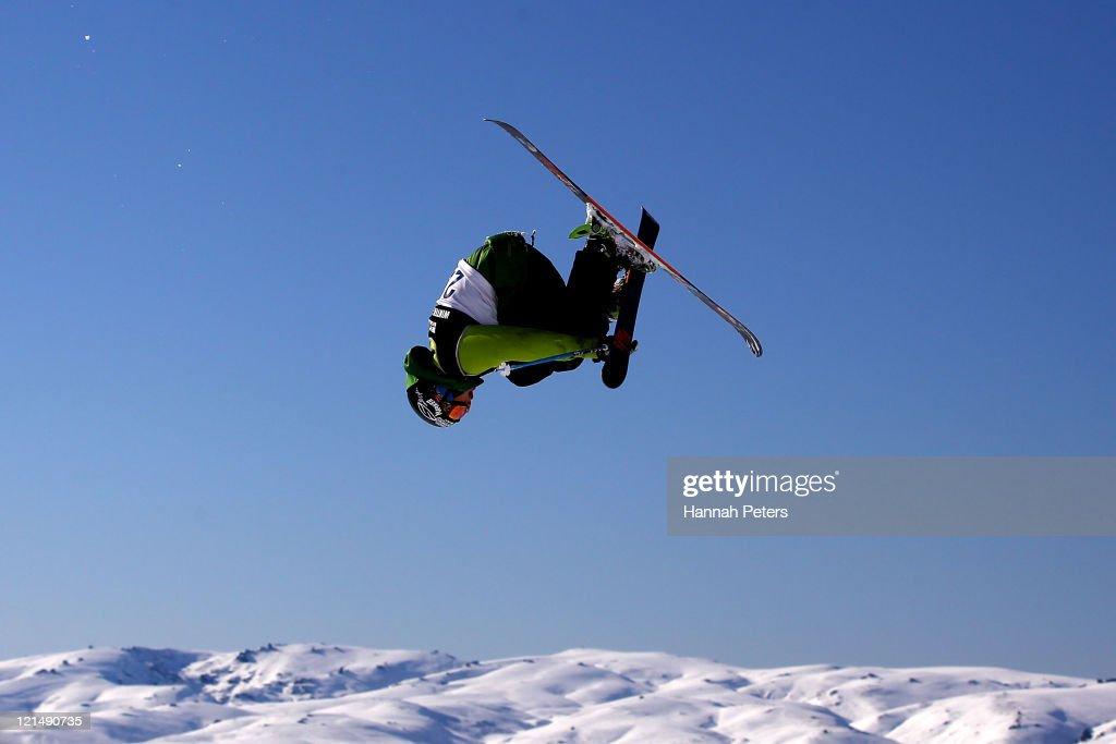 Nicholas Goepper of the United States of America competes in the Freeski Big Air Mens Qualification during day eight of the Winter Games NZ at Cardrona Alpine Resort on August 20, 2011 in Wanaka, New Zealand.